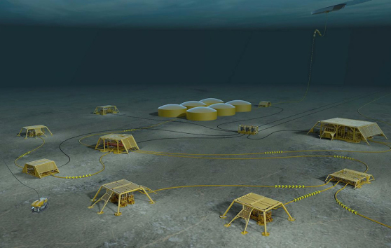 Photo: Subsea factory, Statoil ASA