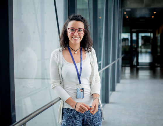 Elisa and other researchers at NTNU want to find the most energy-efficient way of operating a system. Photo: Maria Amelie